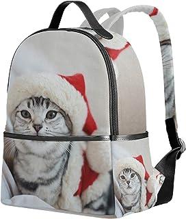 ユサキ(USAKI) リュック リュックサック 通学 幸せ 猫