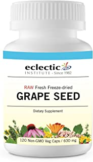 Eclectic Grape Seed Freeze Dried Vegetables with Glass, Blue, 120 Count