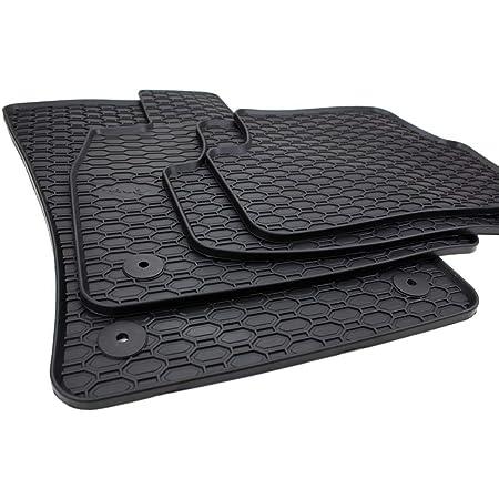 Gummimatten Premium Qualität Fußmatten Gummi Schwarz 4 Teilig Auto