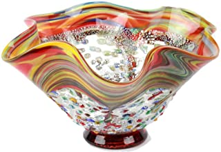 Original Murano Glass OMG Fortepiano - Centerpiece - Millefiori and Silver