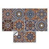 Dzmuero Azulejos Adhesives,10 Piezas Cenefas Adhesivas,20cm*20cm Pegatinas Renovación pared...