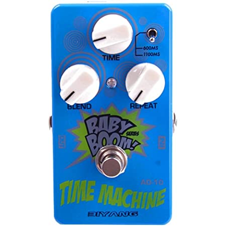 Biyang Analog Delay Pedal, AD-10 Baby Boom Time Machine Guitar Delay Pedal True Bypass (AD-10)