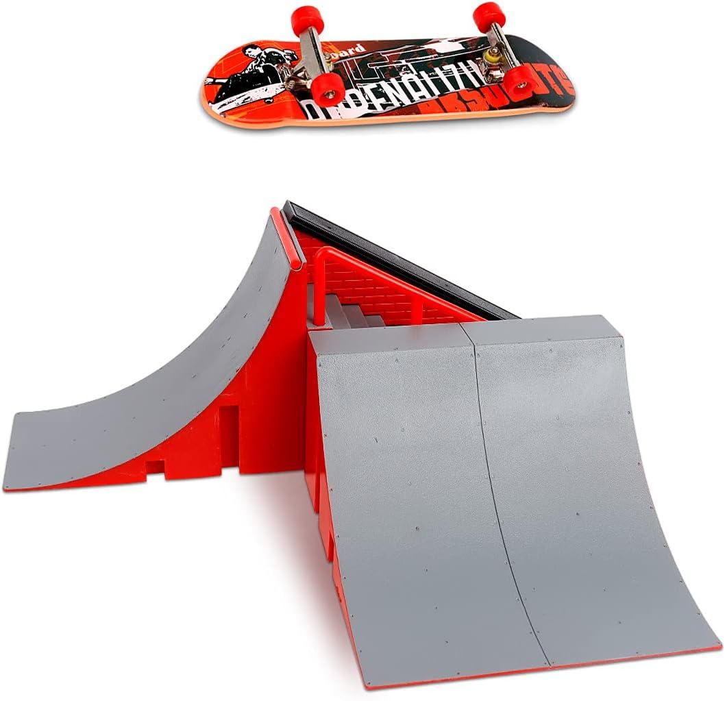 CS COSDDI Skateboard Ramp Set – Finger Skateboard – Fi