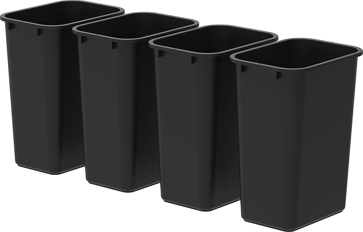 Large Japan's largest assortment Tall Waste Basket 15.5 x Import Case 11 o Inches 20.75 Black