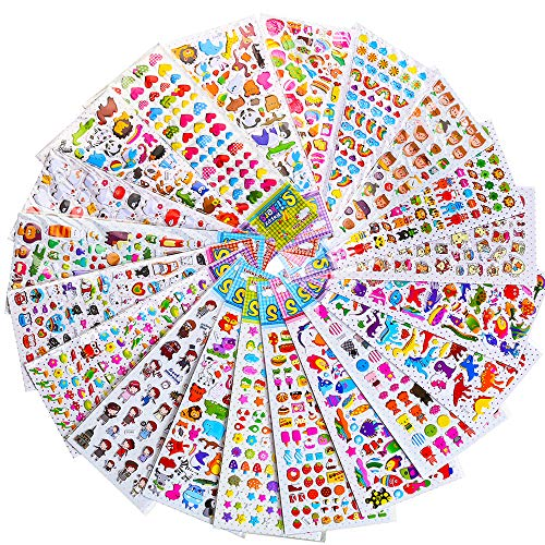 RENOOK stickers for Kids 1500