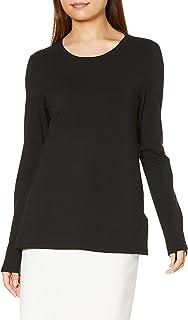[Amazon Essentials] クルーネック クラシックフィット 長袖 Tシャツ レディース