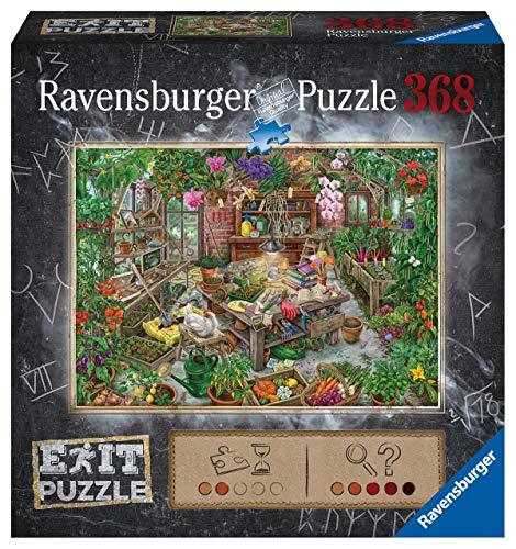 Ravensburger Puzzle 16483 - Im Gewächshaus 368 Teile Exit Puzzle - Premium Qualität für EXIT- begeisterte ab 12 Jahren