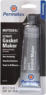 Permatex 29132 2 Pack 2.7 oz. MotoSeal 1 Ultimate Gasket Maker, Grey