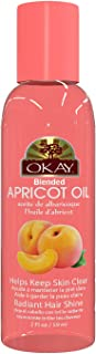 Okay | Blended Apricot Oil | For Hair and Skin | 2 Ounce