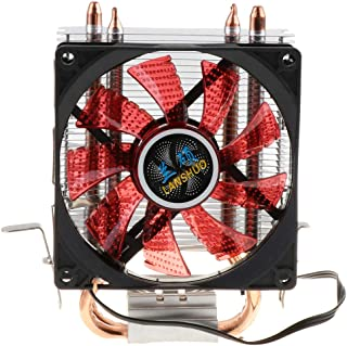 perfk DC 12V 90mm Ventilador Silencioso para CPU, Ventilador