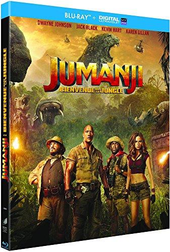 Jumanji : Bienvenue dans la jungle [Blu-ray + Digital UltraViolet]