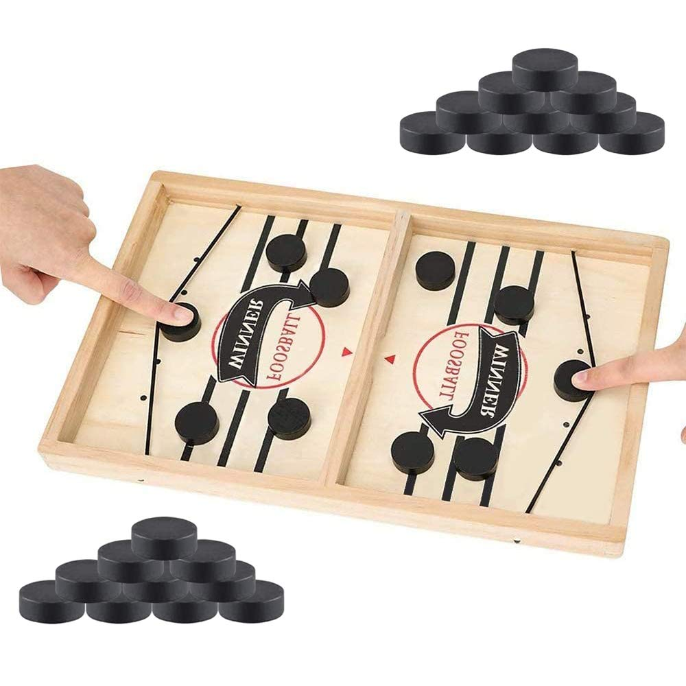 Wooden Hockey Game Table Game Board Game Family Fun Parent-child Interactive Toy