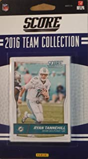 Miami Dolphins 2016 Score EXCLUSIVE Factory Sealed Team Set with Ryan Tannehill, Cameron Wake, Ndamukong Suh, 5 Rookie Cards plus