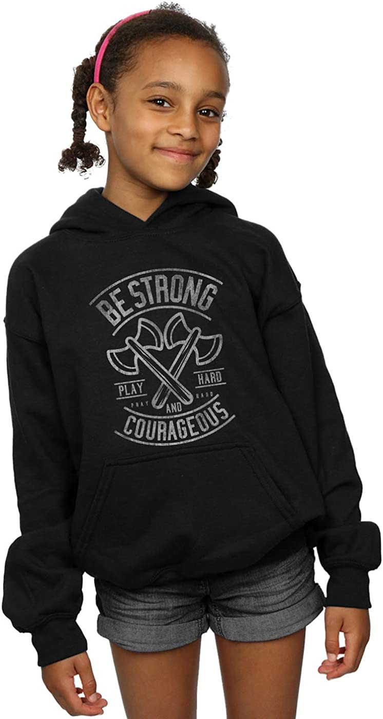 ABSOLUTECULT Drewbacca Girls Be Strong Hoodie