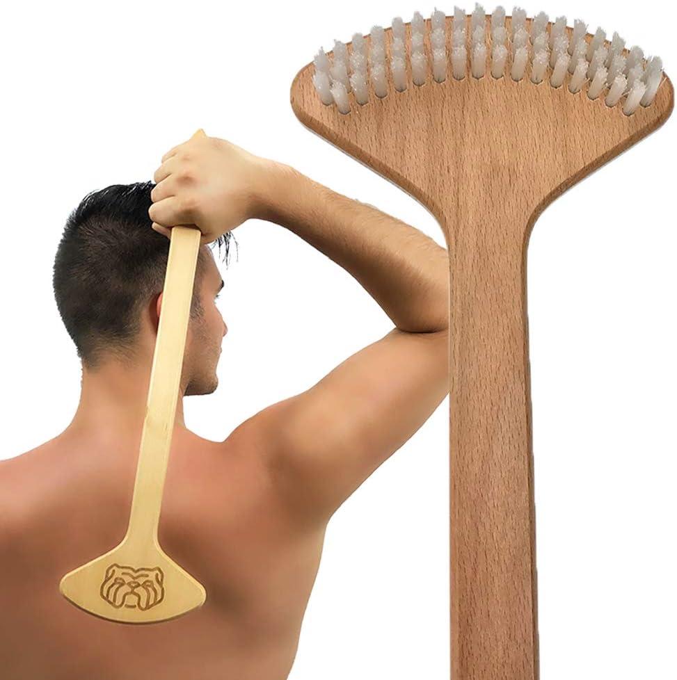 THE Max 77% OFF BULLDOG Back Scratcher the f SALENEW very popular! Skin Stimulator Original Brush
