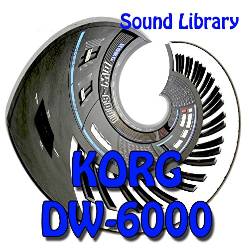 Save %38 Now! KORG DW-6000 - Large Original Factory & NEW Created Sound Library/Editors on CD or dow...