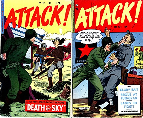 Attack. Issues 7 and 8. True War Stories. Features A jet fast speed packed feature Death in the Sky, Glory Bait, Rescue at Puengyan and ladies do fight ... features. Digital Comics (English Edition)