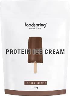foodspring Helado Proteico, Chocolate, 240g, Tu polo de batido de proteínas