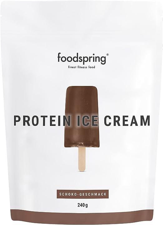 Gelato proteico foodspring cioccolato 240g il tuo frullato proteico da leccare B07FTRJ9VX