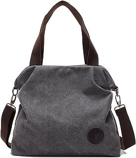 Mfeo Womens Casual Canvas Irregular Tote Bags Shoulder Purse Cross body Handbags
