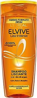L'Oreal Paris Shampoo Lisciante Intense Elvive, 285ml