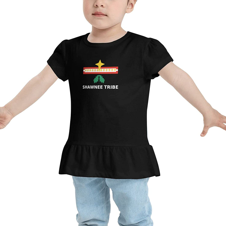 Shawnee Tribe Babys Girls Cotton T-Shirt T Shirts Dresses