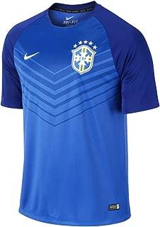 Men's Brasil CBF Squad Pre-Match Dri Fit T-Shirt