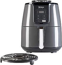 Ninja Air Fryer AF100EU Black heteluchtfriteuse met nauwkeurige temperatuurregeling, friteuse zonder olie en vet zwart