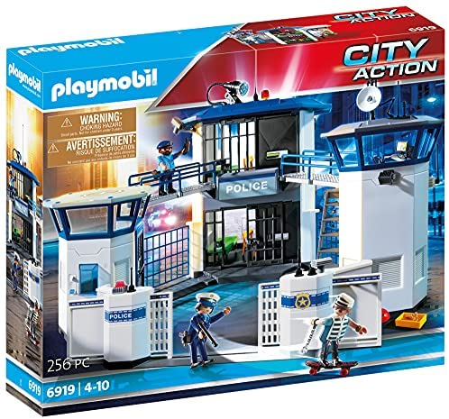 Playmobil 6919 City Action Police Station with Prison