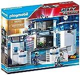PLAYMOBIL City Action Comisaría de Policía con Prisión, a Partir de 4 Años (6919)