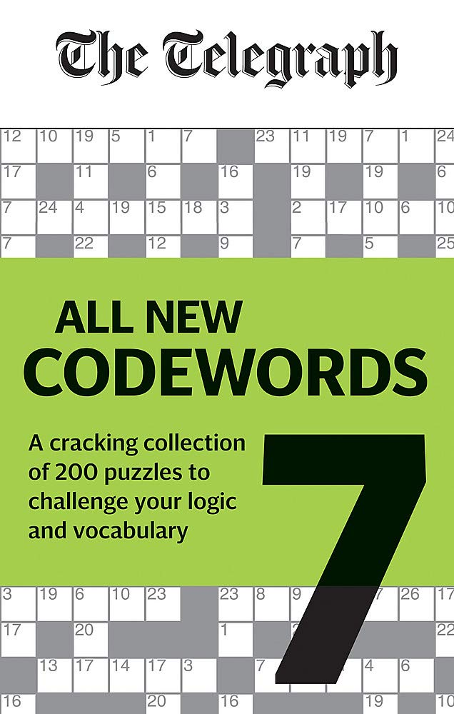 Image OfTelegraph: All New Codewords Volume 7: A Cracking Collection Of Over 200 Puzzles To Challenge Your Logic And Vocabulary