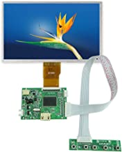 7 inch IPS Display Screen with Driver Board, 1024 x 600 TFT LCD HDMI Game Monitor, for Raspberry Pi PC Laptop Car Display