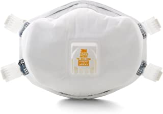 3M Particulate Respirator 8233, N100-4 Count