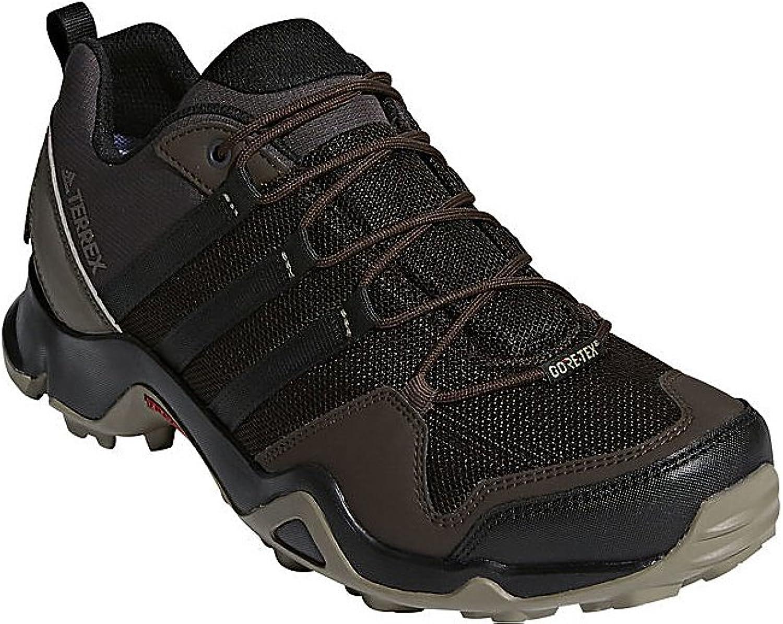 Adidas outdoor Men's Terrex AX2R GTX Night Brown Black Simple Brown 12 D US