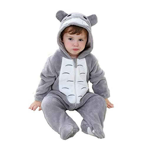 Tonwhar Unisex-Baby Animal Onesie Costume Cartoon Outfit Homewear 57b15095a