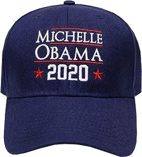 City Hunter C901v Michelle Obama 2020 Velco Baseball Caps - 3 Colors