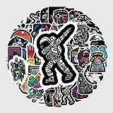 FSVGC Pegatinas de Graffiti del Espacio Exterior, Equipaje de Astronauta, Motocicleta, portátil, refrigerador, Coche de Juguete, PVC, Pegatinas Impermeables, 50 unids/Set