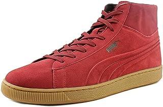 PUMA Men's Suede Mid Emboss Rio Red Sneaker 10M