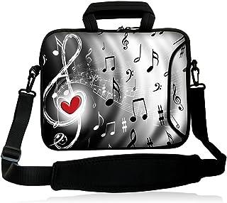 "iColor 9.7"" Tablet Sleeve 10"" Laptop Shoulder Bag 10.2"" 10"" 8"" Laptop Handle Cases Carrying Cover Holder with Adjustable Strap"