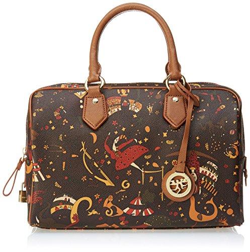 piero guidi Top Handles Bag, Borsa a mano Donna, Marrone (Marrone), 31x20.5x16.5 cm (W x H x L)