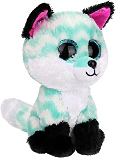 AGUIguo Kawaii Plush Animal Toy Green Fox Toy Stuffed Animal Toys Gift for Kids Babies & Toddlers Birthday Party Baby Shower Christmas Home Décor