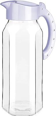 Signoraware Radiant Glass Water Jug, 1.5 Litre, Multicolor