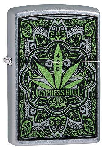 Personalized Zippo Cypress Hill Fan Street Chrome Windproof Lighter Free Engraving #49010