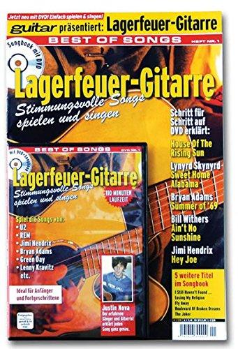 guitar: Lagerfeuer-Gitarre. Best of Songs. Mit DVD: Stimmungsvolle Songs spielen und singen. Spiel die Songs von U2, REM, Jimi Hendrix, Bryan Adams, Green Day, Lenny Kravitz etc