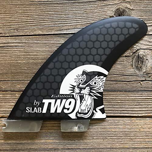 Slab-Surf Fins Thruster Hexa TW9 Black Talla L - 2 tabs Clic