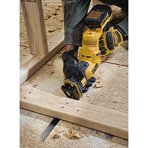 DEWALT 20V MAX Cordless Reciprocating Saw Kit, 5 Amp-Hour Battery (DCS387P1)