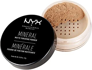 NYX Professional Makeup Mineral Finishing Powder, Medium/Dark, 0.28 Ounce