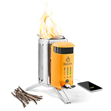 BioLite Campstove 2 Wood Burning Electricity Generating & USB Charging Camp Stove