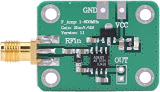 Akozon 1-600MHz RF Detector de señal Medidor de potencia logarítmica dinámico, alta frecuencia