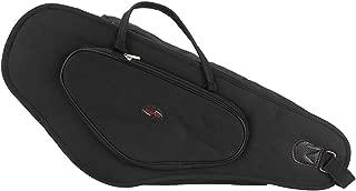 Andoer Alto Saxophone Sax Bag Case 15mm Foam Hard Board Double Zipper 600D Thicken Padded Water-resistant with Adjustable Shoulder Strap Pocket